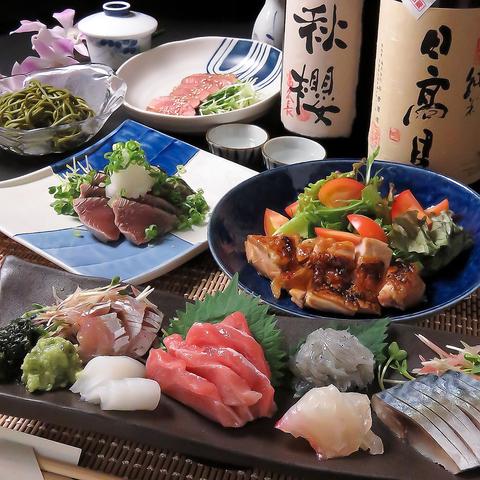 全国各地の旬の鮮魚!それに合わせた日本酒を堪能できる居酒屋『ちゃん影』