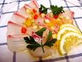 鮮魚のカルパッチョ♪
