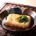料理メニュー写真ジーマミ―豆腐の揚げ出し
