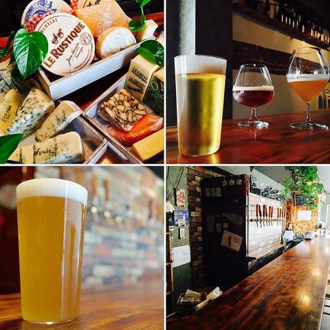 ★日替わり8種の海外樽生ビールと、厳選チーズとのマリアージュをお楽しみください★