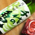 【千代の亀 純米吟醸】きりっとした淡麗辛口酒です。