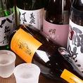 当店自慢の江戸前寿司との相性抜群の日本酒を数多く取り揃えております。恵那山や王禄などをご用意しており、グラスでのご提供は勿論、カラフェでのご提供も承っております。是非お寿司と合わせてご堪能ください。