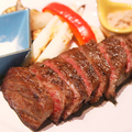 料理メニュー写真国産黒毛和牛ステーキ