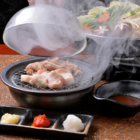 【ヤマハチ新名物】燻製ホルモン焼き鍋