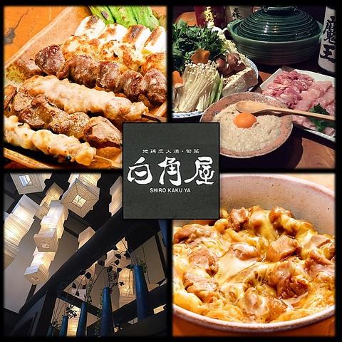 地鶏炭火焼 旬菜 白角屋 飯塚店
