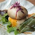【サラダの部:代表】定番!藁たまポテトサラダ…450円(税抜)