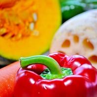 季節の旬の食材は茨城県産のものを出来る限り使用