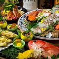 料理メニュー写真最大3時間飲み放題付料理10品-魚弘コース-7500円⇒5999円