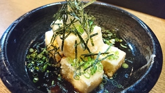 料理メニュー写真チーズフライ/ごぼうスティック/揚げ出し豆腐