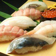 美味しいお酒と旨い寿司★職人の技を楽しめます!