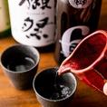 花陽浴・而今・田酒などプレミアムな日本酒を豊富に取り揃えました!日本酒のスッキリした味は、九州料理と相性抜群です◎