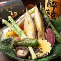 料理メニュー写真浜焼き野菜
