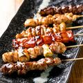 料理メニュー写真おまかせ串焼き5本盛り
