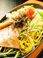 料理メニュー写真博多風とんこつ焼きラーメン