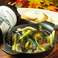 料理メニュー写真ムール貝とキノコのアヒージョ