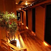 【全席完全個室】人気のオシャレ空間♪
