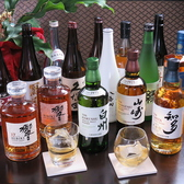 お酒の種類も豊富です。