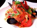 料理メニュー写真オマール海老のパスタ