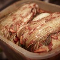 ◆韓国伝統の味!オモニ手作りキムチ