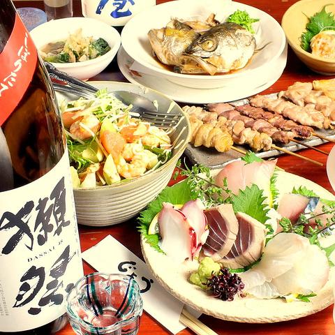 ほっこり寛ぎの掘りごたつで、北海道・瀬戸内海直送の魚河岸料理を…♪♪
