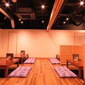 最大50名様までOKの宴会用個室は、人気のため早めの予約が確実!洗練された和個室で宴会はいかが?