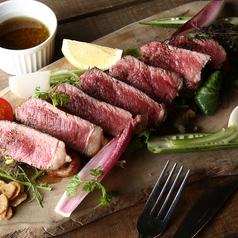 料理メニュー写真牛ロースのステーキ ~ジャポネソース~