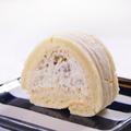 料理メニュー写真甘栗のロールケーキ