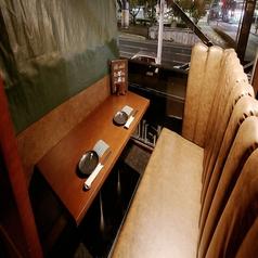 落ち着いた雰囲気で二人の距離もグッと近づくカップルシート★限定2席のカップルシート席で大切な人と大切なひと時をお過ごしください。大人気のためご予約はお早めに!