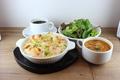 料理メニュー写真クリーミー海老グラタン