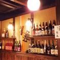 日本各所の銘酒も取りそろえています