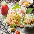 料理メニュー写真薩摩赤鶏のタタキ