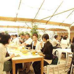 松本ビアガーデンの雰囲気1