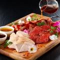料理メニュー写真欲張り3種の肉盛り【2~3人前】