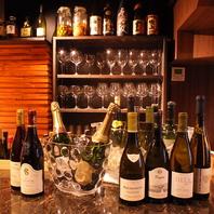 【豊富なグラスワイン!】理想の食べ合わせを発見★
