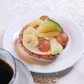 料理メニュー写真ナッツとドライフルーツのタルト