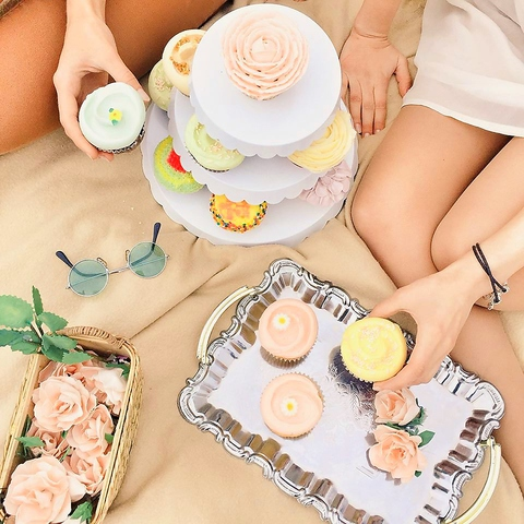 大人気の海外ドラマで有名に♪可愛いカップケーキとスイーツはインスタ映え抜群!!