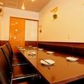 8名様~12名様で藩個室型の独立したお部屋が貸切可能です♪