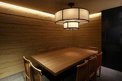 最大10名様までご利用可能な個室です。周りのお客様に気を遣うことなくゆっくりした時間を堪能できます。