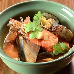 料理メニュー写真魚介のトムヤムブイヤベース