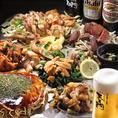 コースは松:3500円・竹:4000円・梅:5000円の3種類ご用意しております!宴会でももちろん、ご家族でもご利用ください。まあいっぺん、食うてみんさい!うまいけぇ♪