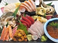 自慢の海鮮料理やこだわりの食材!!職人の技と経験