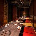 個室はやはりいつでも大人気♪お早めのご予約をお待ちしております!その他、テーブル席もございますので、ご利用の人数様に合わせてお席はご用意致します。
