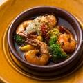 料理メニュー写真海老のガーリックオイル煮