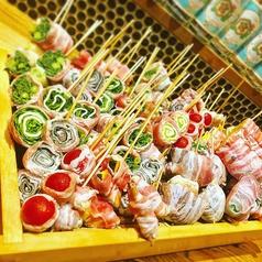 越の串焼き ニワノトリのおすすめ料理1