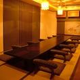 広々としたテーブル席でお食事をお愉しみください!ご宴会などおもてなしの場にも◎人数、ご予算に応じてコースも承ります。