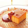 料理メニュー写真焦がしキャラメルのチーズケーキ