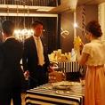 ≪受付テーブルもご用意可能≫宴会、パーティ時に必須の受付テーブルも完備!
