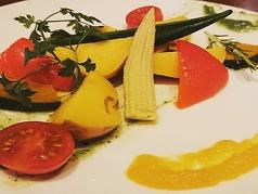 新鮮野菜のバーニャカウだ