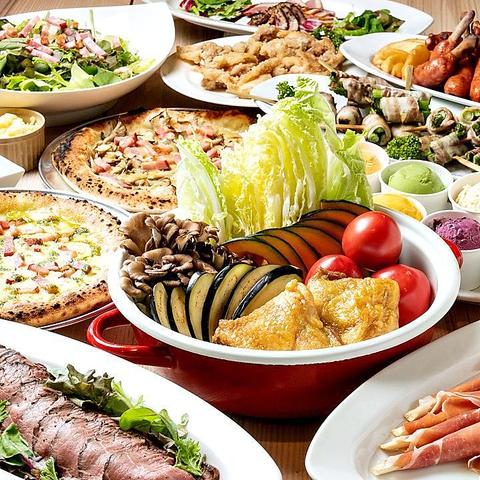 ★設備充実!豊富で美味しいケータリング料理が食べられる貸切パーティー会場★