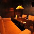 【4階:saloon】人気のソファ席。合コンや同僚との飲み会利用にも◎